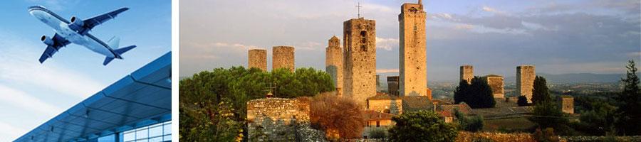 Transfers-FCO-S.Gimignano